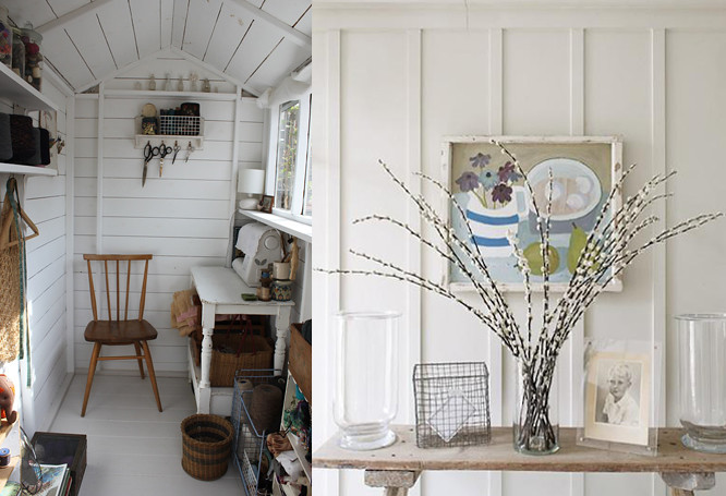 Something i made interiors interlude for Beach hut interior ideas