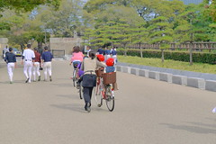 Cycling Osaka Castle
