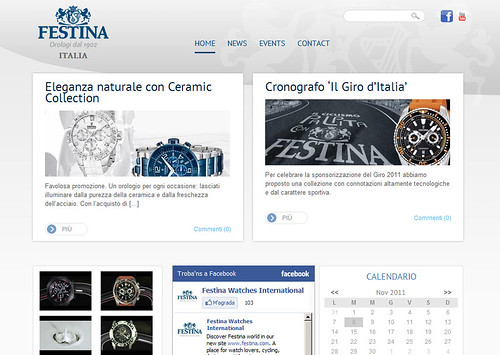 Festina International Local Sites