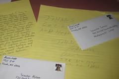 Letters to Nebraska Senators Mike Johanns and Ben Nelson in support of reform