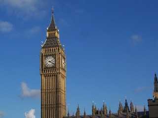 Big Ben, Westminster, London, November 2011