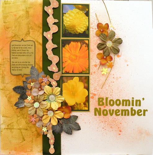 Bloomin' November