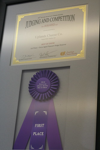 uplands cheese acs champion 2010