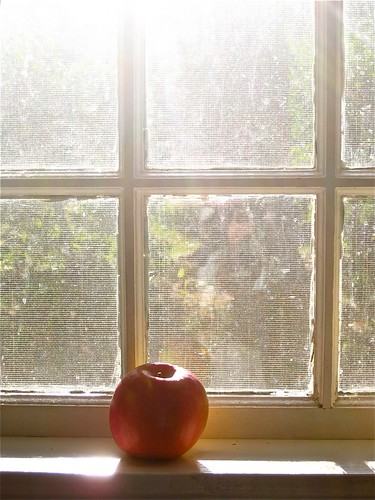 Morning Sun and an Apple