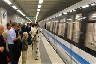 111117 Algiers Metro opens to enthusiastic reviews | افتتاح المترو ينال إعجاب سكان العاصمة الجزائرية | L'ouverture du métro d'Alger suscite l'enthousiasme