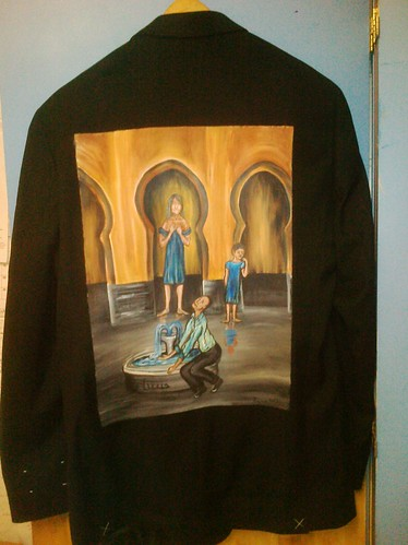 """Midnight in the courtyard of Zweena"" John Phelan's jacket"