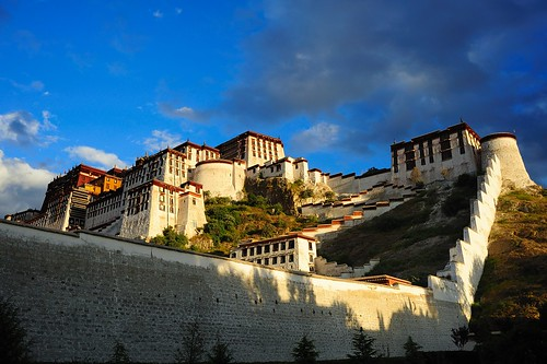"Tse Podrang ""Summit Palace"" is another name for the Potala Palace, Tibet"