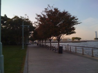 Waterfront, West Side Hiwy, New York