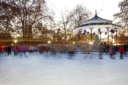 Skating Hyde Park London England