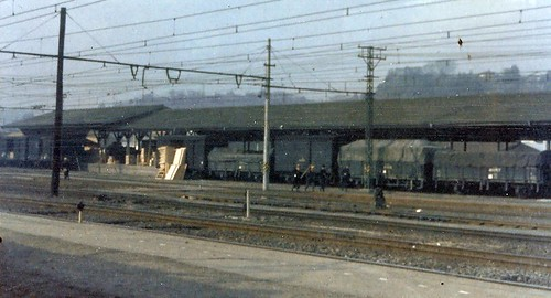 TRAINS OF YOKOHAMA IN EARLY 60S by roberthuffstutter
