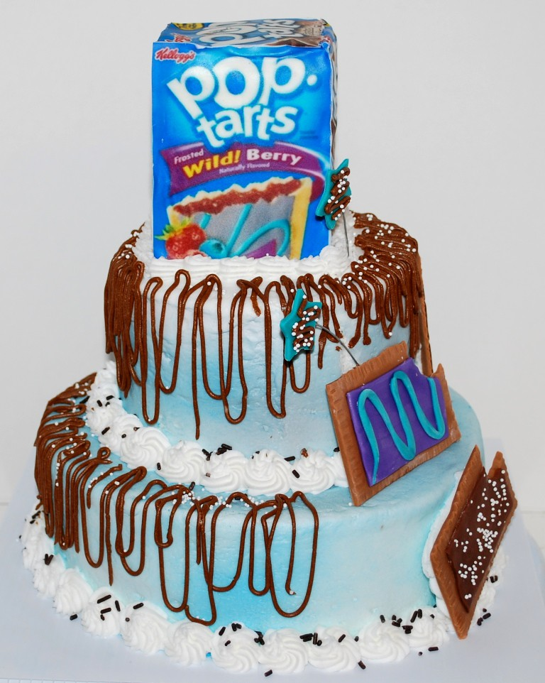 Boutiquenutmegdesigns Pop Tart Theme 18th Birthday Cake