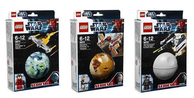 LEGO Star Wars Planet Series 1
