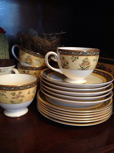 Our wedding china. India, by Wedgwood