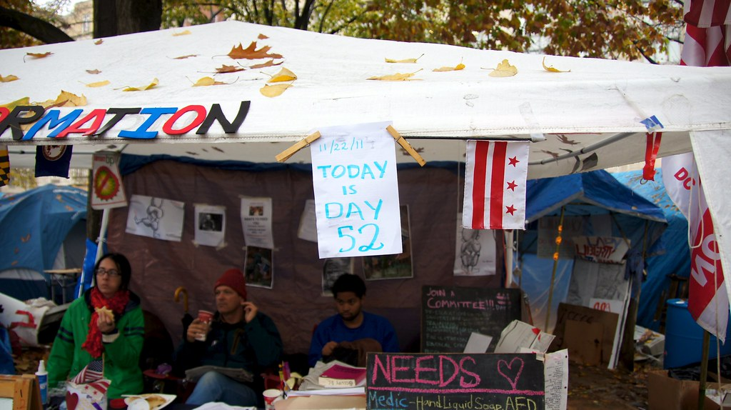 Studying leadership at pepper-spray-less Occupy DC