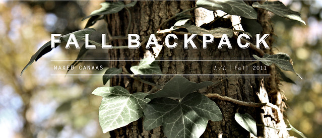 Fall Backpack Banner