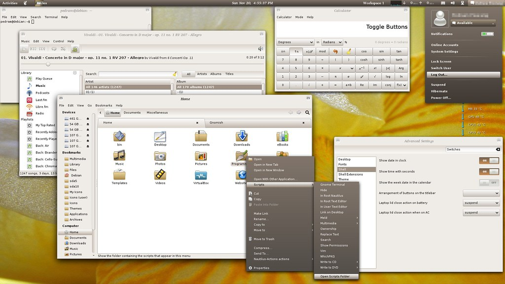 gnome shell themes ubuntu