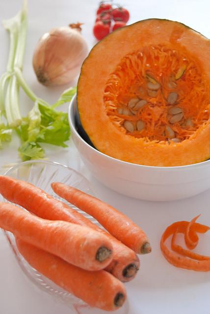 Zucca e carote