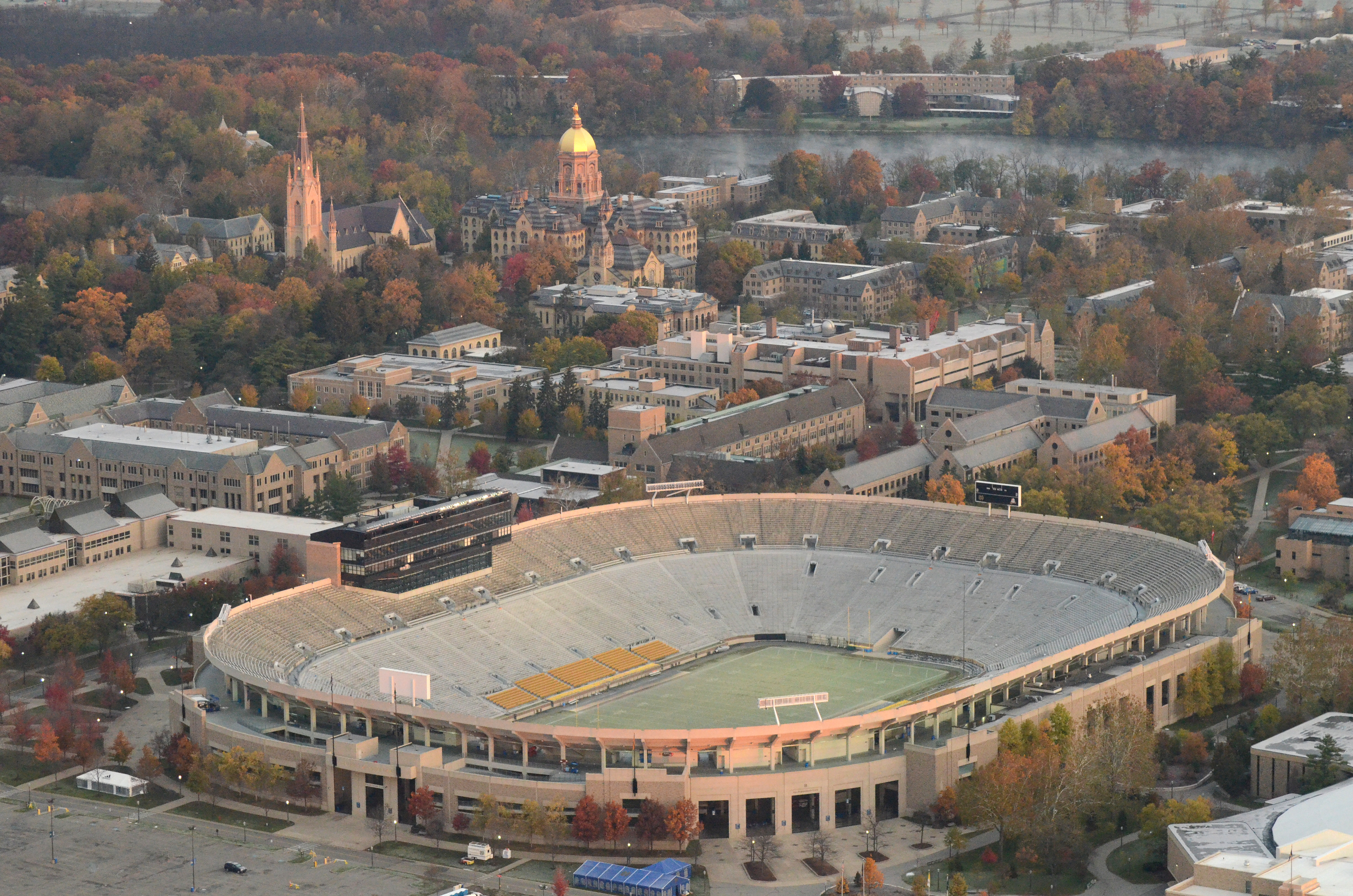 Thoughts on the Conceptual Notre Dame Stadium Upgrades ...
