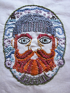 fisherman embroidery