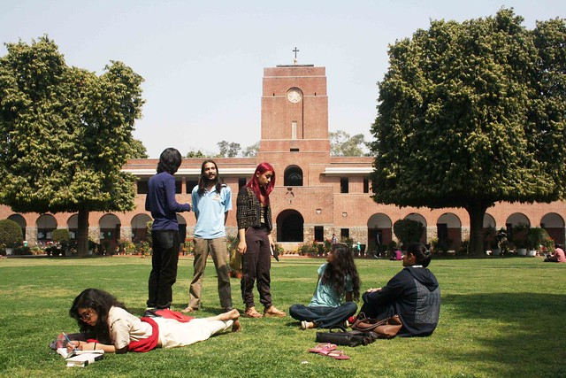 City Landmark – St Stephen's College, Delhi University