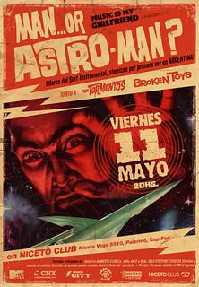 Man.. Or Astro-Man?