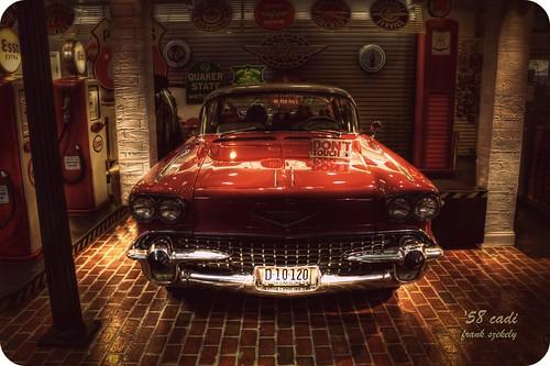 car vintage frank cadillac 1958 szekely frankszekely