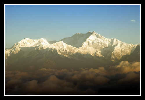 Dec 24th--358/365----Mount Kanchenjunga and Christmas Eve On Tiger Hill-----