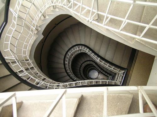 Stairwell - Cubist museum in Prague on Flickr