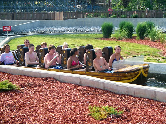 Holiday World - Pilgrims Plunge
