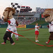 Abe Lincoln wins the Washington Nationals Presidents Race
