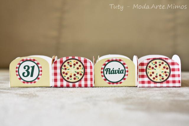 Festa tema pizzaria