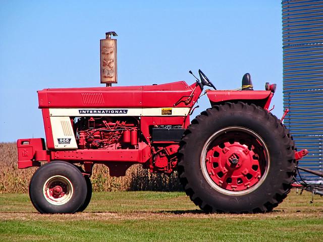 966 International Tractor : International flickr photo sharing