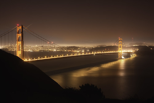 Golden Gate Bridge from Marin Headlines