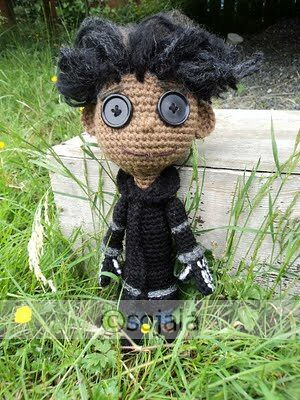 Crochet Wybie doll inspired by coraline Flickr - Photo ...