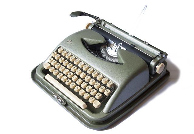 ABC portable typewriter