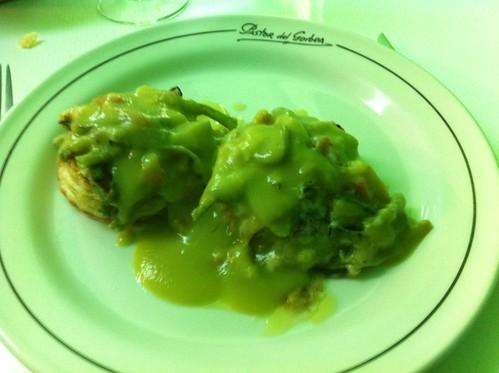 Berriz | Pastor del Gorbea | Vol au vent relleno de verduritas