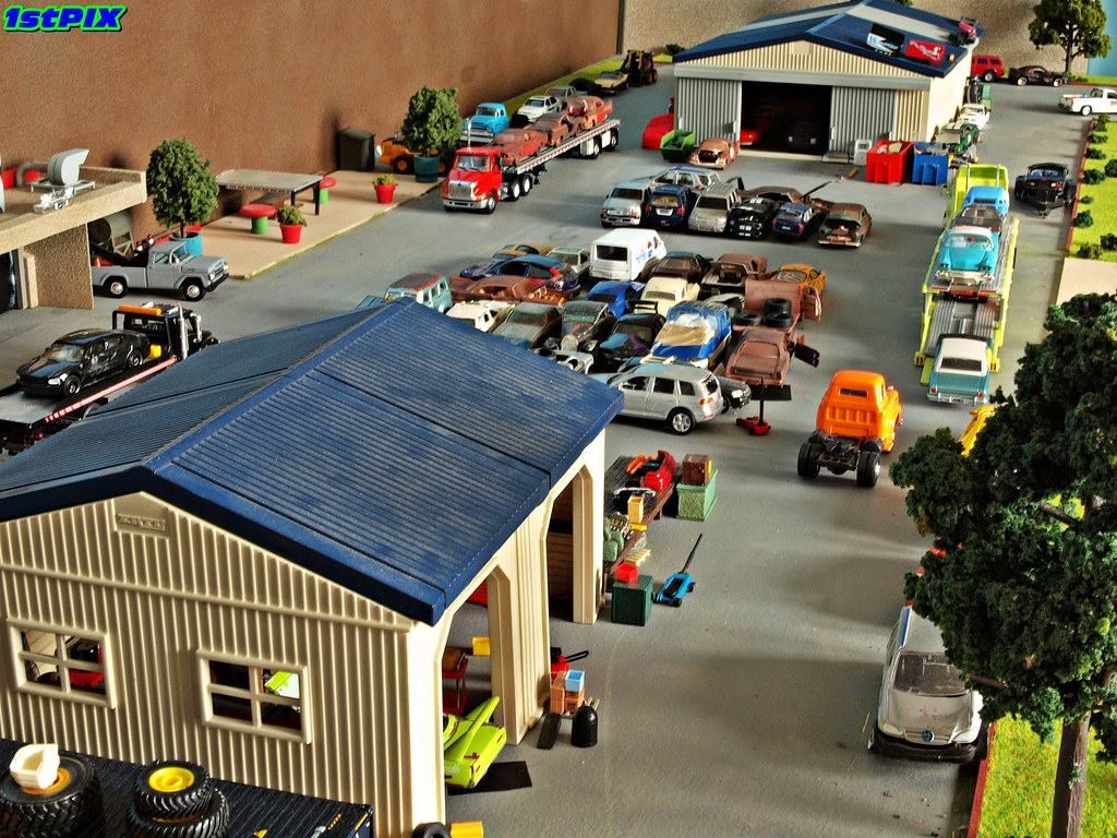 The Junkyard A Bird S Eye View Of The Front Lot At Auto
