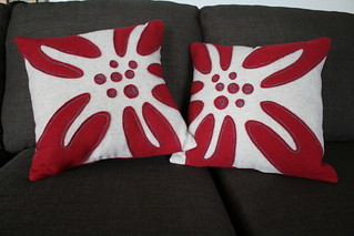 Lily Pillow Covers in Stitch!