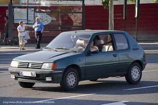 1990 Peugeot 205 Roland Garros