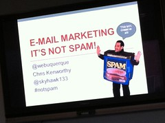 Webuquerque - E-mail Marketing – It's Not Spam!