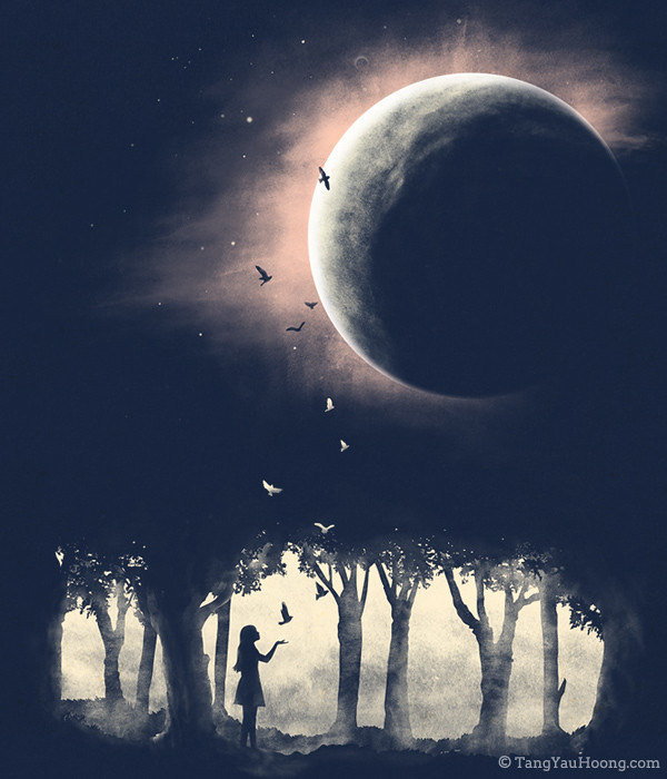 Into The Universe Art Print By Tang Yau Hoong Website Sh Flickr
