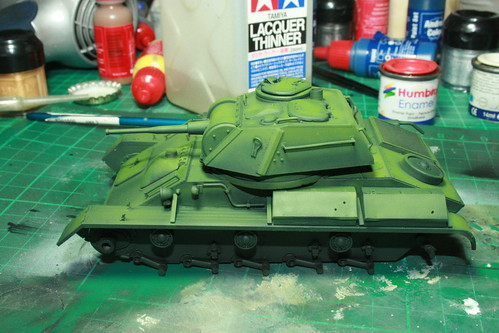 T-80 light tank paint 10