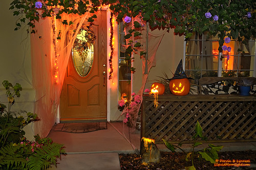 autumn holiday fall halloween pumpkin jack october o jackolantern pumpkins front porch lantern morningglory puke happyhalloween puking darvin 2011 gobblins atkeson gouls darv porchpumpkins liquidmoonlightcom
