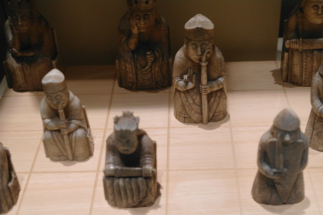 ancient chess pieces flickr photo sharing