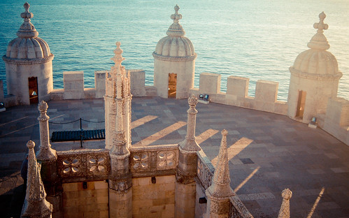 details of the Torre de Belém