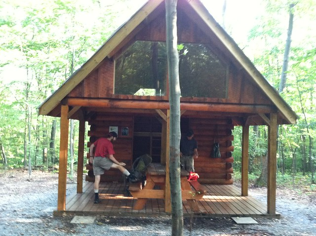 Clearly deer lick shelter on appalachian trail authoritative