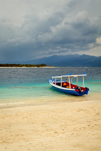 Ile de Gili Trawangan entre Bali et Lombok