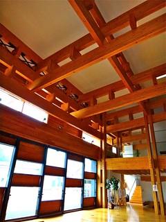 梼原町総合庁舎, Yusuhara Town Hall, Kōchi, Japan