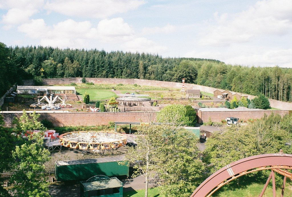 The Walled Garden - Loudoun Castle Theme Park