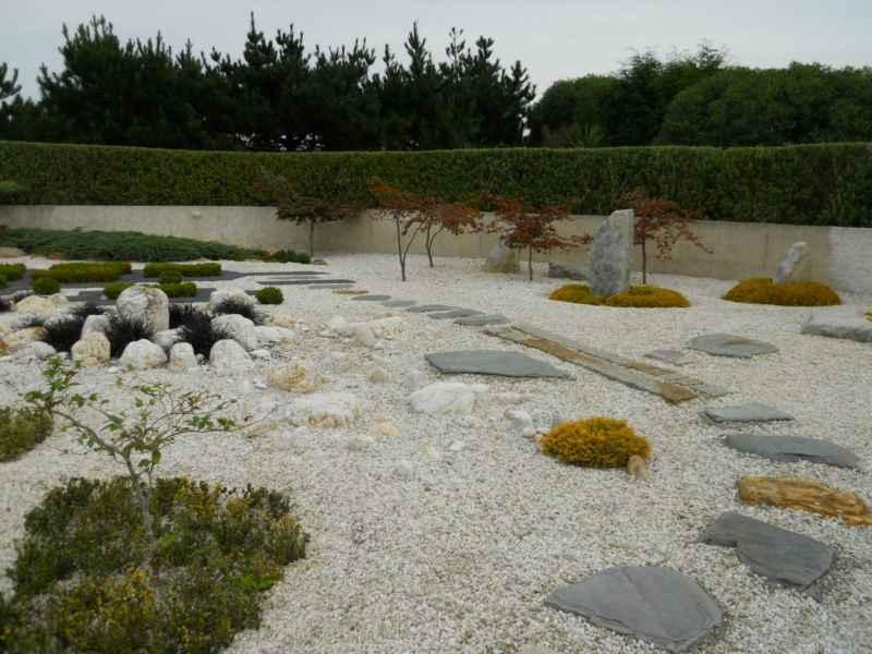 Pavimento decorativo para jardín